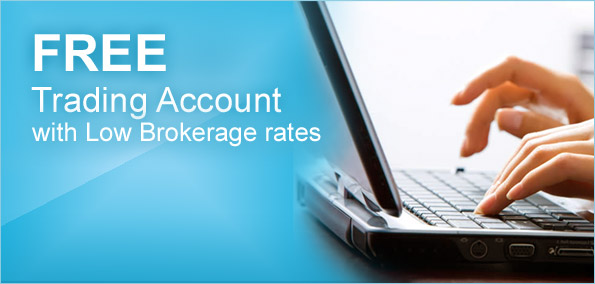 Free trading account with low brokerage rates
