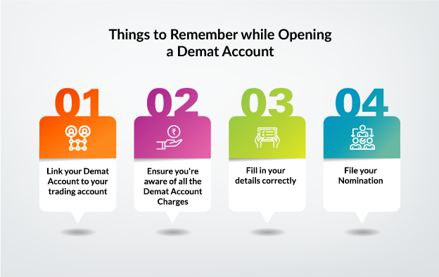 Things to remember while opening demat account